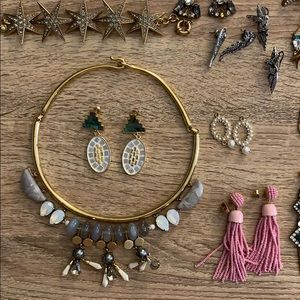 Lulu frost mosaic earrings